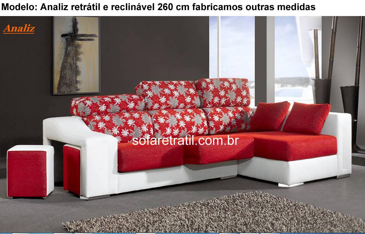 Sofa Retr 225 Til E Reclin 225 Vel Sof 225 Que Abre E Fecha
