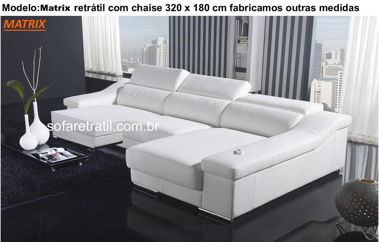 Modelos de sof s 56 fotos dos mais belos estofados em for Sofa 03 lugares com chaise