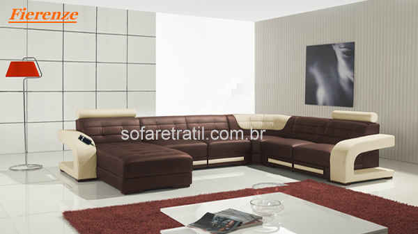 sofa retratil eletrico