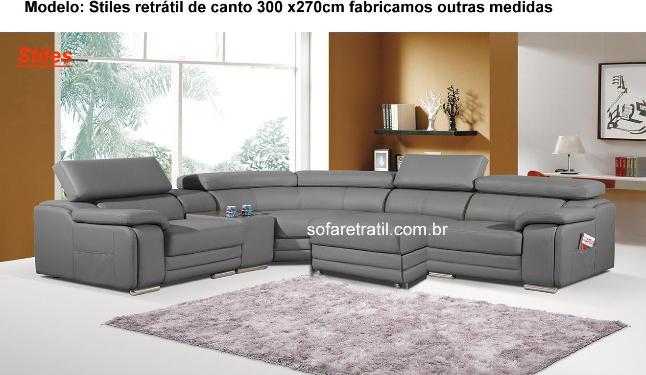 Sofa Retrátil de canto - 30 Lindos modelos Online ...